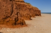 Amazing red cliffs near Gantheaume Point, Broome